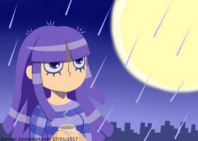 [Original]Rainy night. by Zerinon