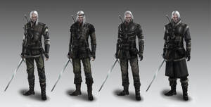 Witcher's armors concept 3