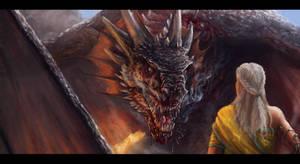 Daenerys and Drogon v2