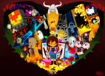 UNDERTALE by Reapers969