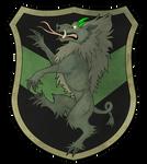 Heraldic Adelinde Rampant