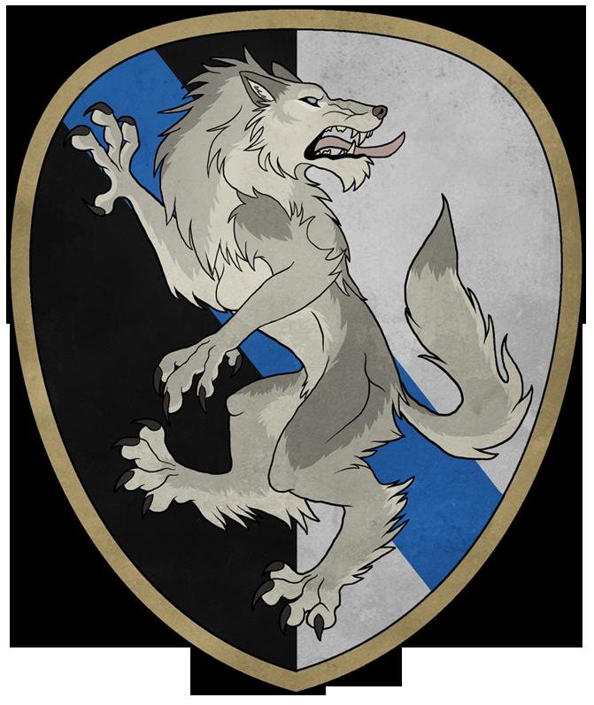 Heraldic Josephine Regardant by khyterra