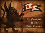 Heraldic Skrekrill War Propaganda by khyterra