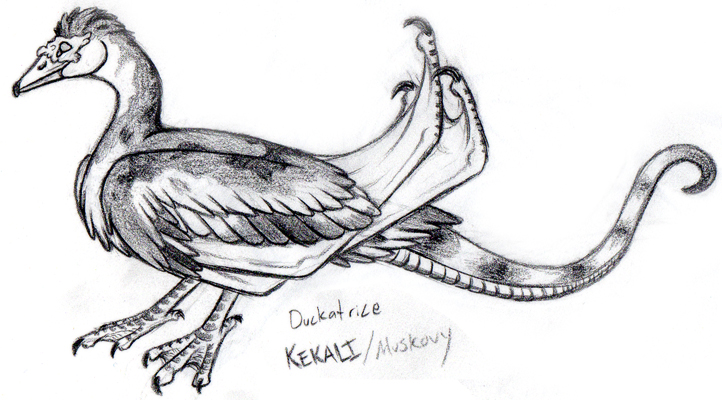 The Mighty Duckatrice by khyterra