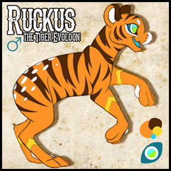 Ruckus the Evoloon by khyterra
