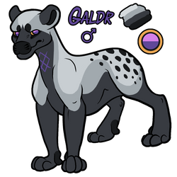 Galdr the Evoloon by khyterra