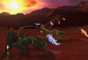 Ravagers on the Prowl by khyterra