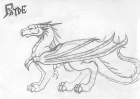 Fayde - Dragon Form - khyterra by khyterra