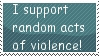 Violence stamp by anime-girl13