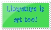 Literature stamp by anime-girl13