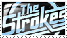 The Strokes stamp by anime-girl13