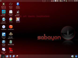 Custom Linux Desktop 08 by paradigm-shifting