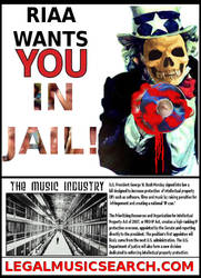 RIAA WANTS YOU IN JAIL by paradigm-shifting