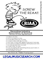 RIAA TOS Agreement by paradigm-shifting