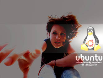 Ubuntu.Wallpaper.Mynameismo by paradigm-shifting