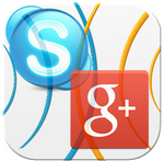 Skype G-Plus Hangouts Bridge Icon