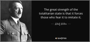 The Great Strength Of The Totalitarian State by paradigm-shifting