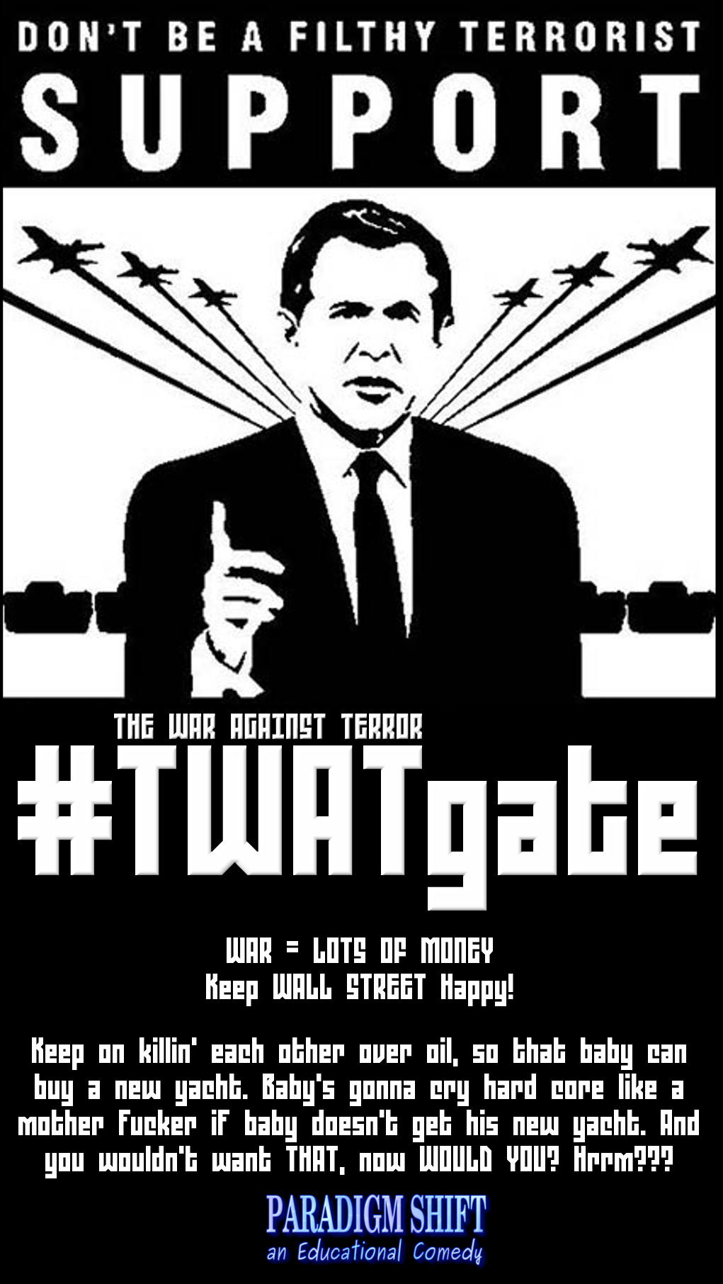 #TWATgate Baby Gonna Cry by paradigm-shifting
