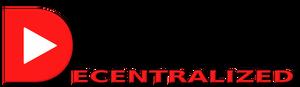 Decentralized Tube 3D Logo