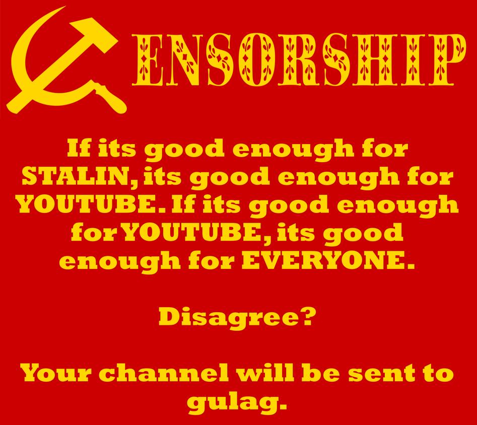 Censorship Gulag by paradigm-shifting