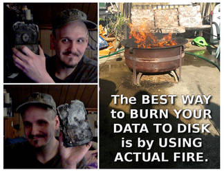 Dave Explains The Best Way To Burn Data