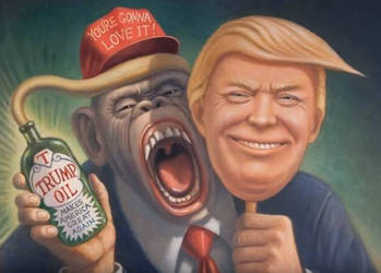 Trump Oil Makes America Great Again by paradigm-shifting
