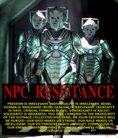 NPC Resistance by paradigm-shifting
