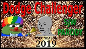 PSEC 2019 The New 2018 Dodge Challenger SJW Parody