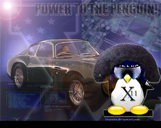Power To The Penguin by paradigm-shifting