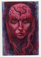 Crimson Muse by zyphryus