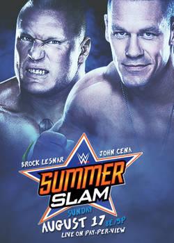 SummerSlam 2014 Poster