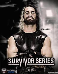 WWE : Survivor Series 2014 Poster by AmericanDreamGTR