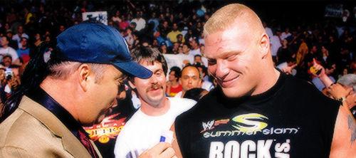 Brock Lesnar Signatue W/Paul Heyman