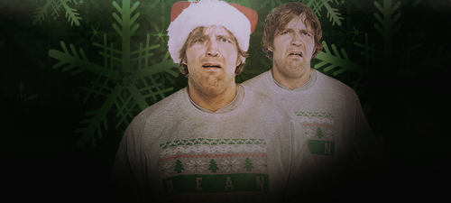 Dean Ambrose Christmas Signature by AmericanDreamGTR