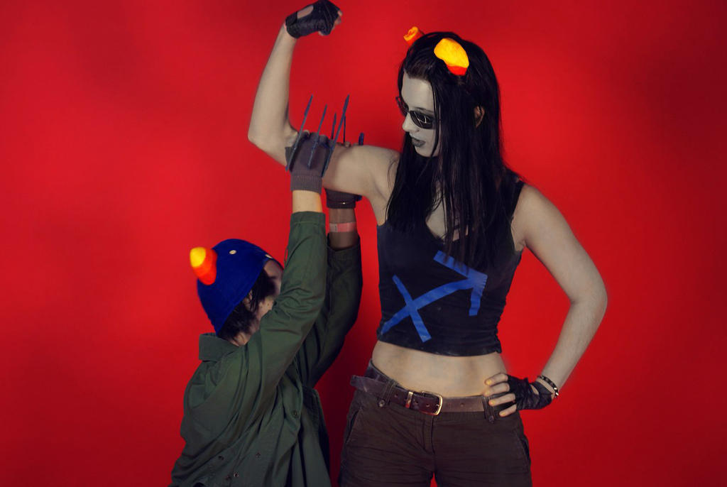 homestuck r63 cosplay equius nepet by anarchytemplar on