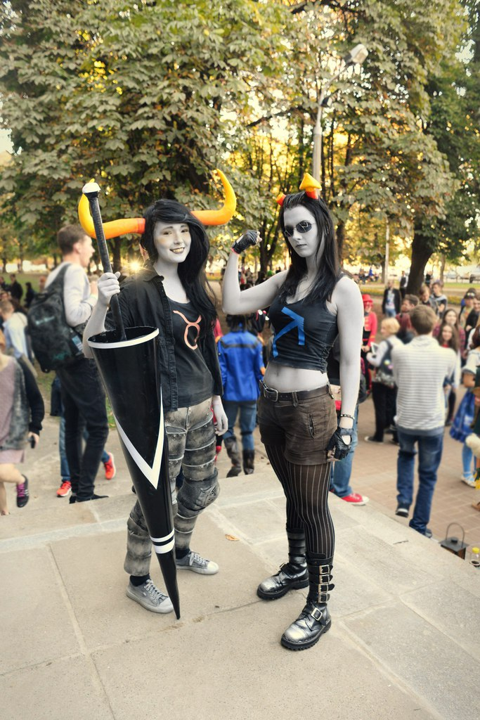 homestuck r63 cosplay equius tavros by anarchytemplar on