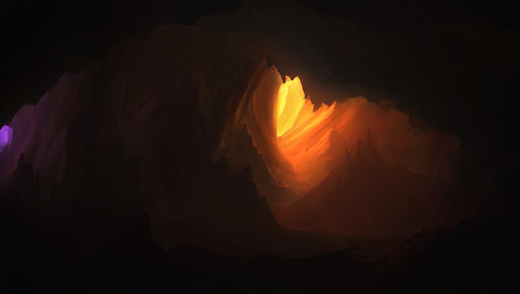 cave by llRobinll