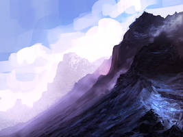 mountains... by llRobinll