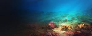 sea floor by llRobinll