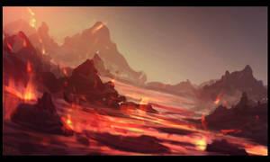 slopes of mount doom