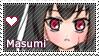 .:.Masumi stamp ENG.:. by Tirumisu