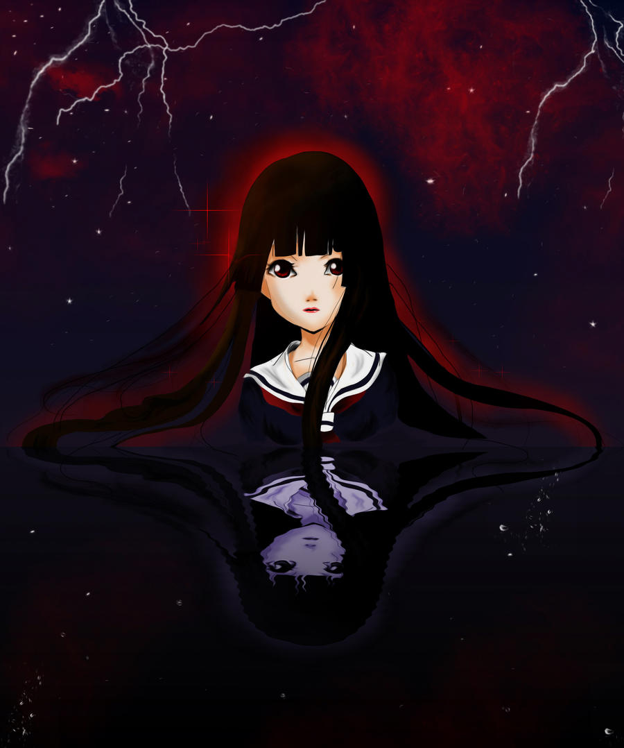 Hell Girl by Blu3Tea