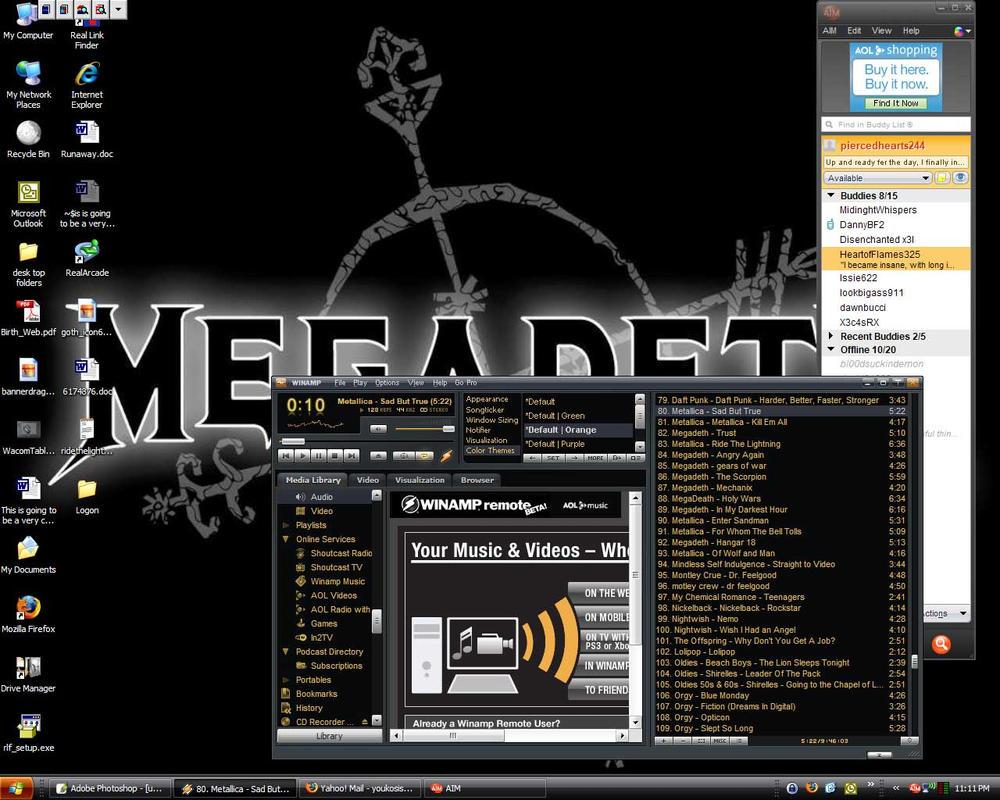 My loverly Desktop by Anglerfish5
