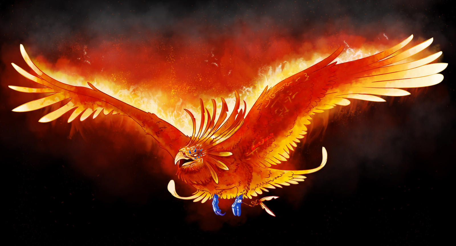 Widely known Mythical Creatures: Blogpost # 6: Phoenix