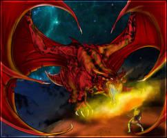 Dragon Slayer by Anglerfish5