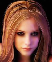 Avril Lavigne by Anglerfish5