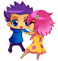Chibi Love by Anglerfish5