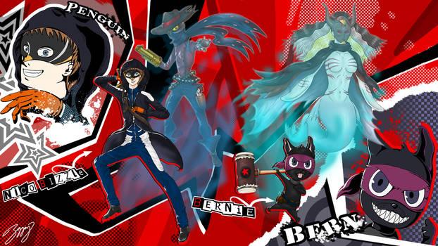 Nico B Persona 5 fanart competition finish 2