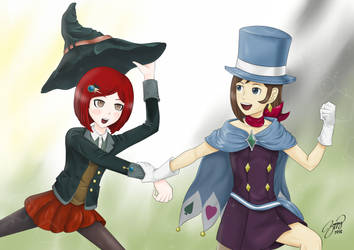 Two little Magicians Full
