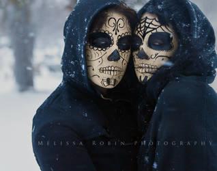 Sugar Skulls by MelissaRobin